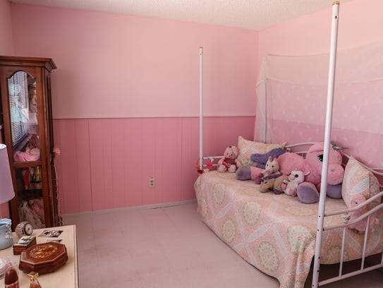 One of the bedrooms at Daniel Panico's and Mona Kirk's