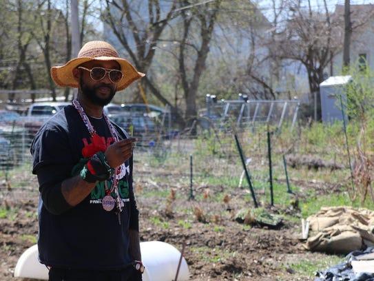 Kenneth Brown Jr., a community organizer in Harambee,