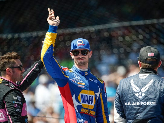 Andretti Autosport IndyCar driver Alexander Rossi (27)
