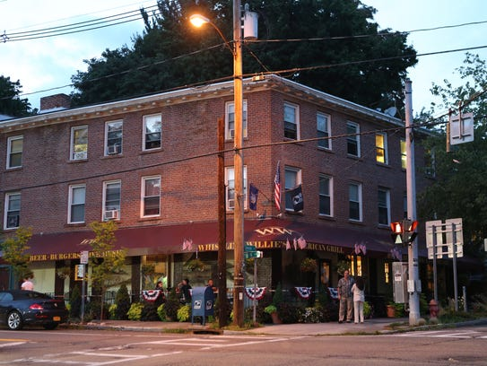 A view of Whistling Willie's restaurant in Cold Spring,