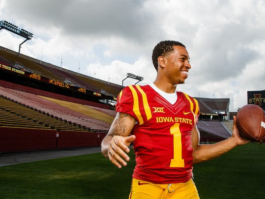 Iowa State defensive back D'Andre Payne is ready to