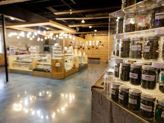 The Reef, a medical marijuana dispensary in Detroit