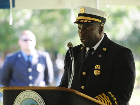Hattiesburg Fire Chief Paul Presley has declined to give the names of the five firefighters demoted for their alleged involvement in the theft of packages from a UPS truck.