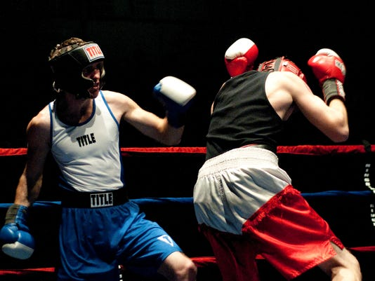 Golden Gloves Boxing 01/21/12