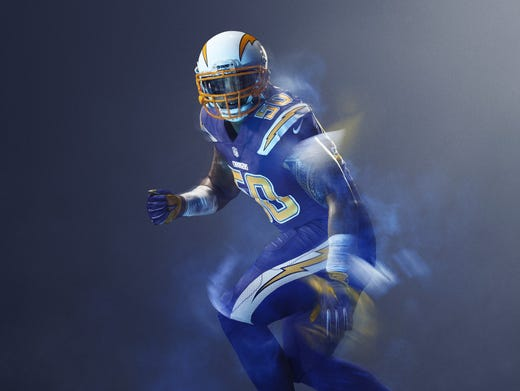 Nike Color Rush Uniforms Take Center Stage On Thursday