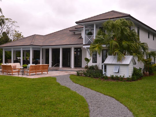 Rear view of the Merritt Island home, which beat out 100 other options for the HGTV Dream Home renovation.
