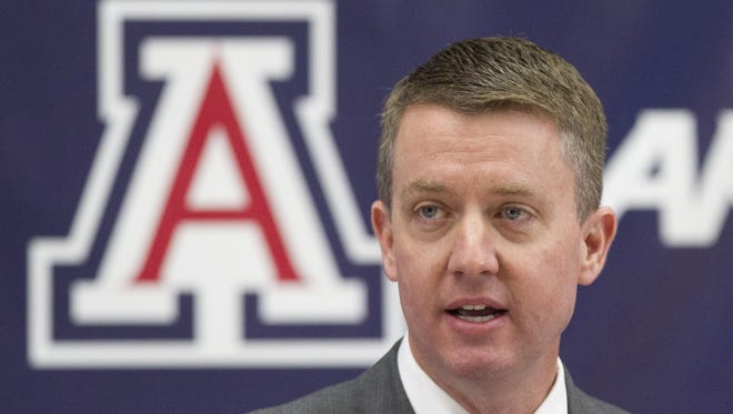 Greg Byrne is the new athletics director for the University of Alabama.