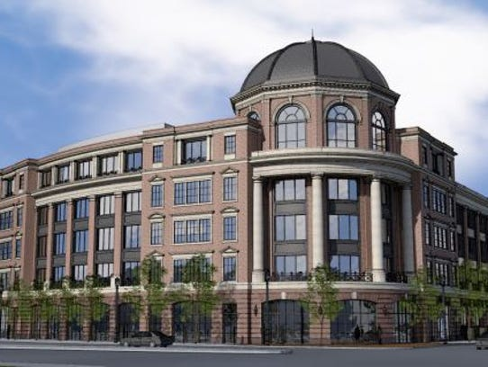 Hammes Co.'s proposed downtown office building's design