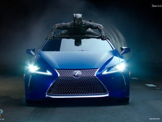 Super Bowl 2018 Black Panther Drives New Lexus In Ad
