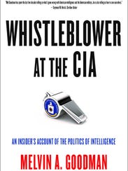 """""""Whistleblower at the CIA"""" is the new book by former"""