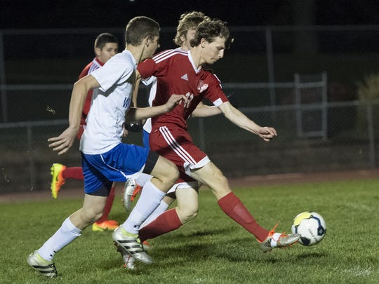 Fannett-Metal's Mikell McGee finished his career with seven school records, including goals in a soccer career, season and game.