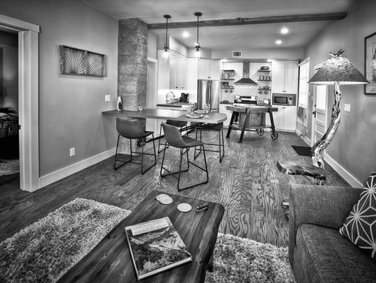 This home interior was renovated as the pilot for the
