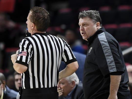 Oakland coach Greg Kampe is a fan of the new NCAA rules.