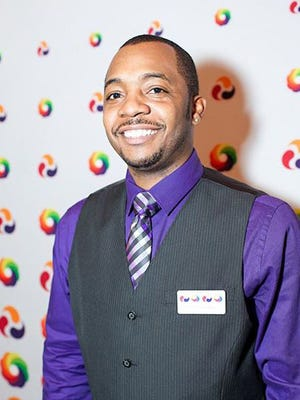 Michael Cleggs Jr., Boy Scout leader who is director of programs at Kalamazoo Gay Lesbian Resource Center.
