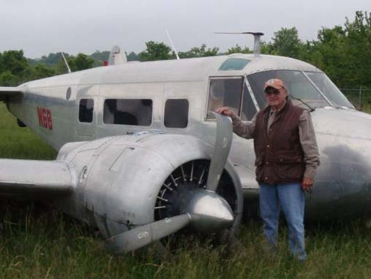 Russell Brothers airplane pilot