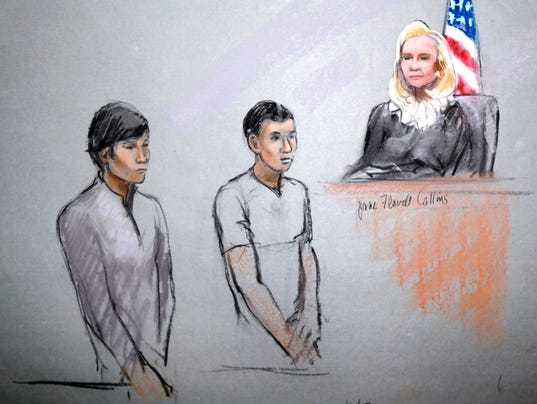 XXX Boston Marathon Suspects Friends