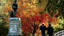 "Tourists, known this time of year as ""leaf peepers"","