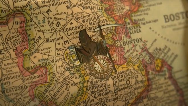 "A map shown in the premiere of ""Lovecraft Country"" warns of a dire fate for visitors to Central Mass."
