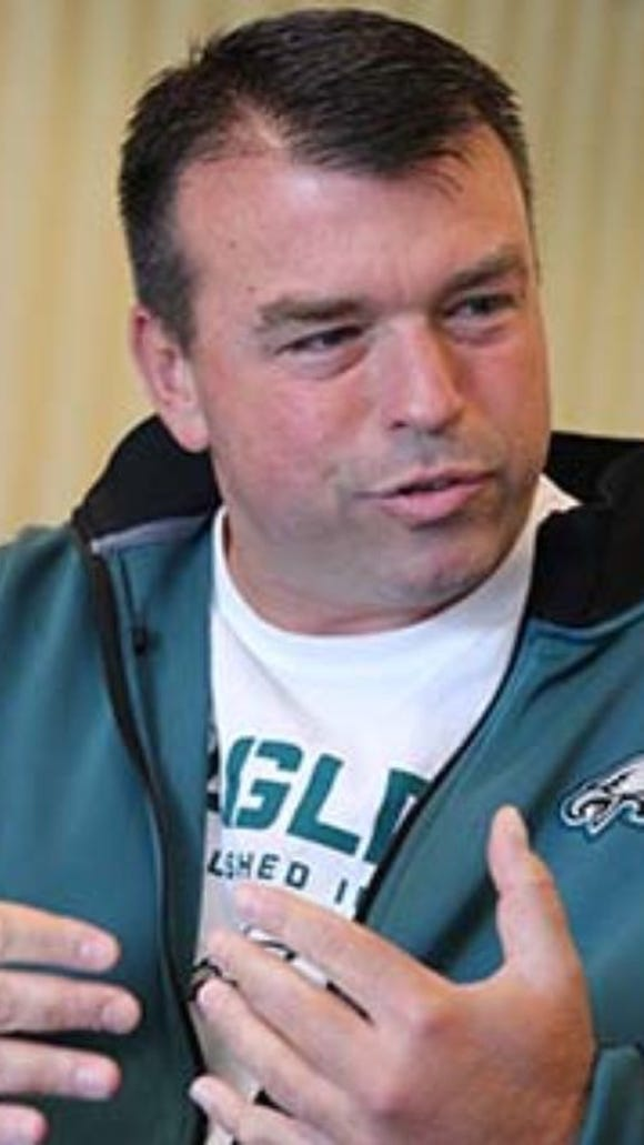 Tom Gamble was the vice president of personnel for the Eagles for two years.