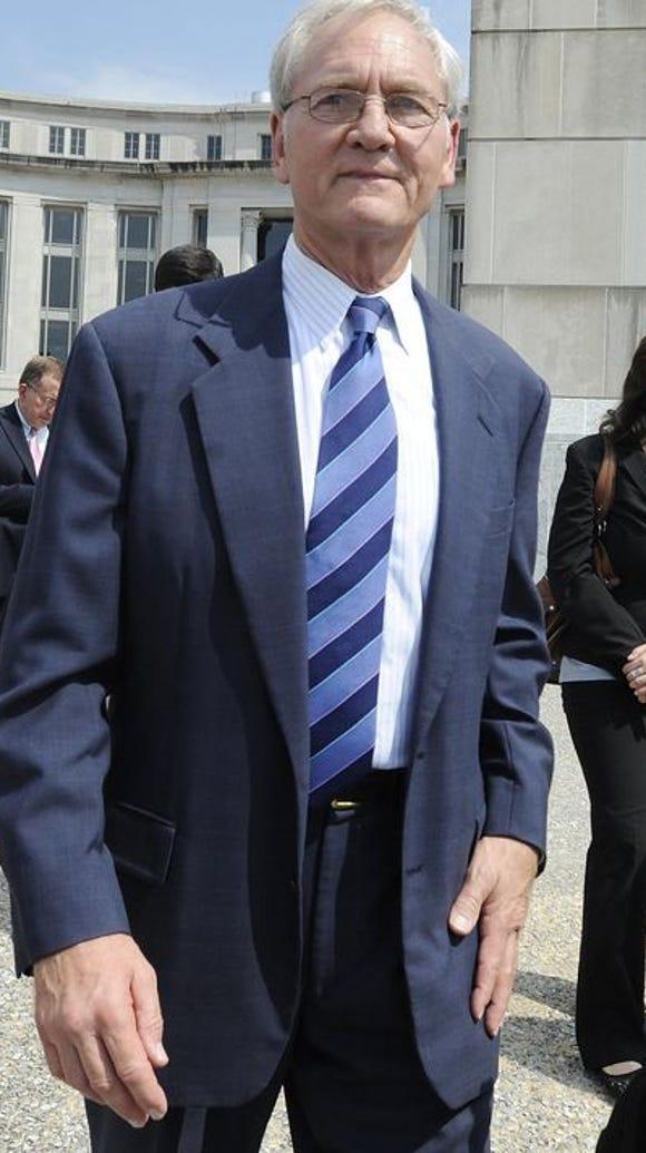 Former Alabama Gov. Don Siegelman is seen here in August,