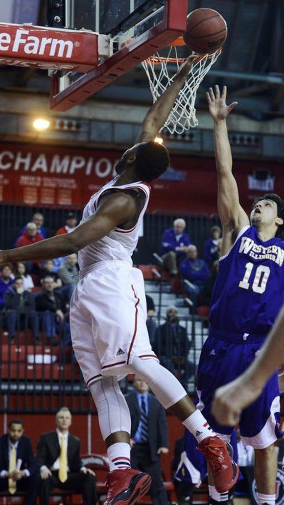 Tre Burnette will be one of two returning starters next year for USD men's basketball.