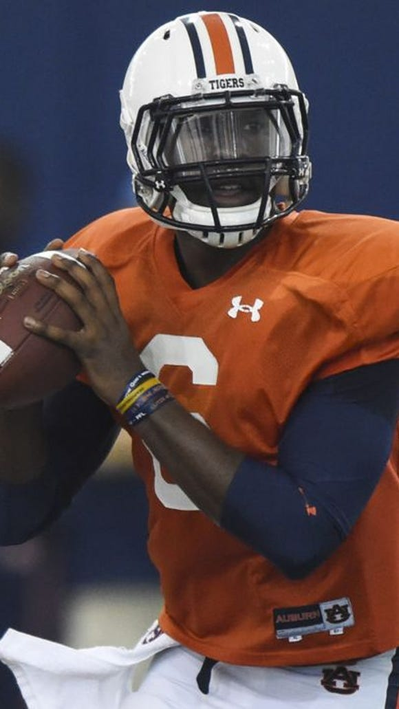 Jeremy Johnson is now the man at quarterback at Auburn.