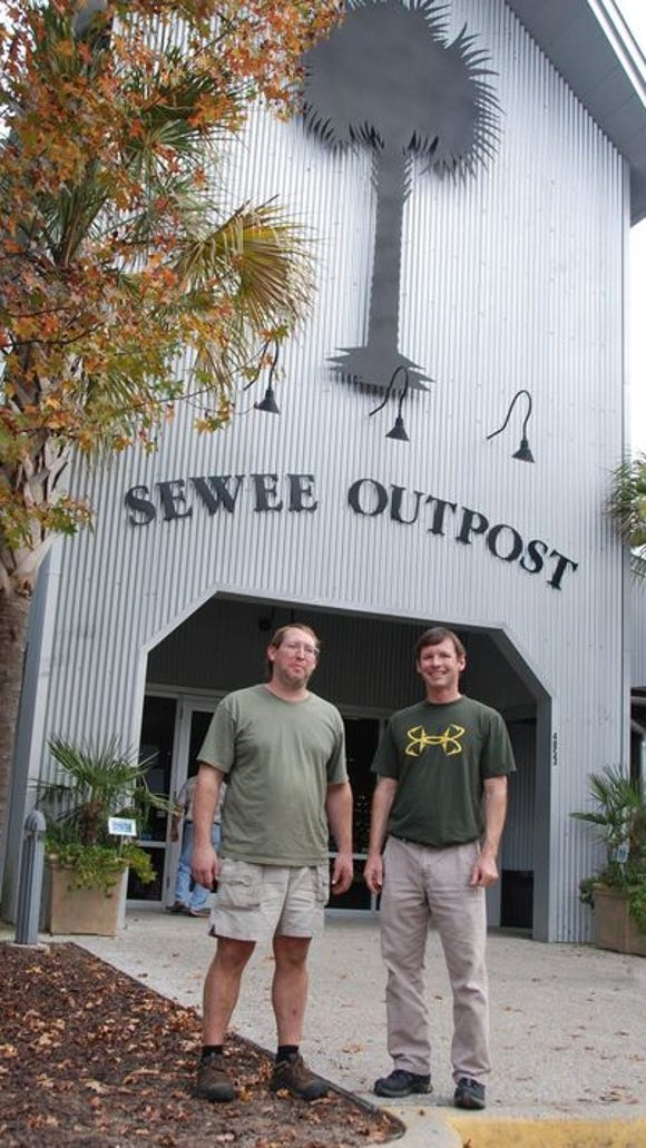 Sewee Outpost, the brain child of Brooks Geer and his brother Arthur, is a country store where they try to make every visitor feels like a local.
