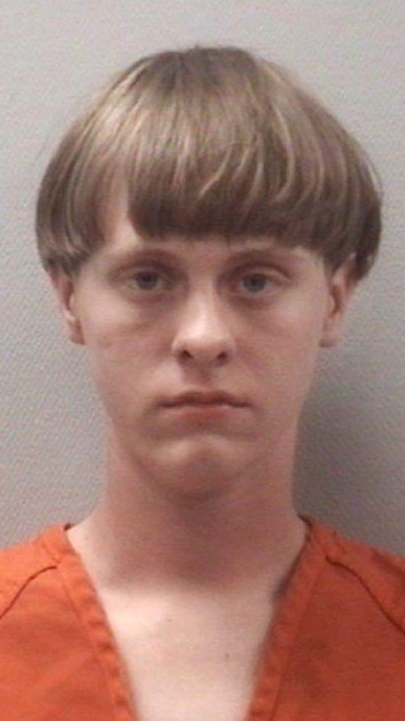 Murder suspect Dylann Storm Roof.