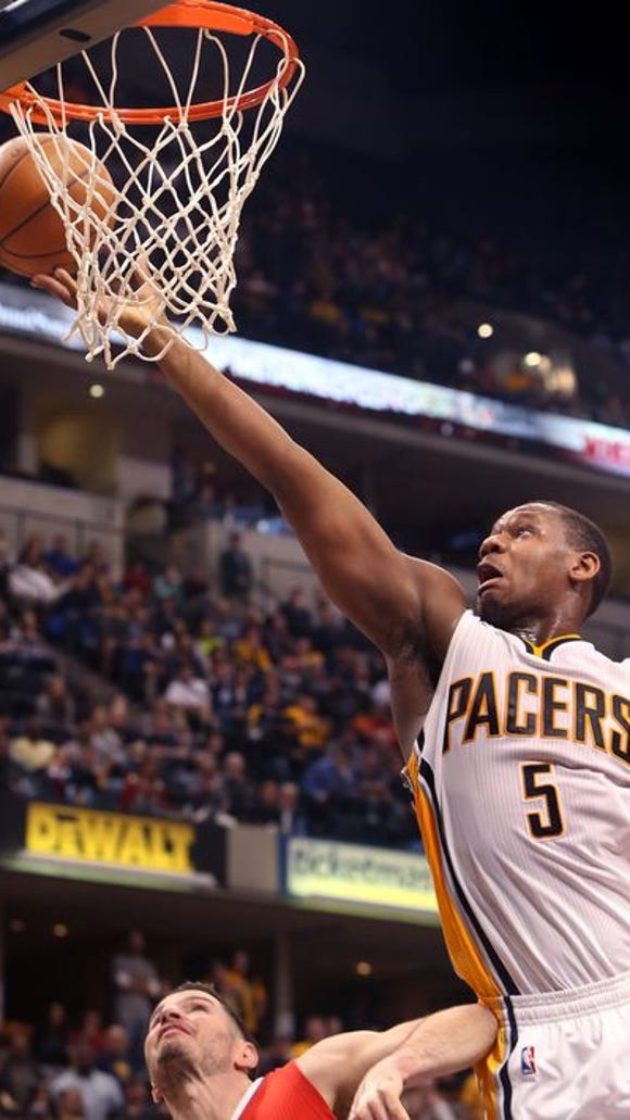 Lavoy Allen returns to the Pacers by signing a multi-year