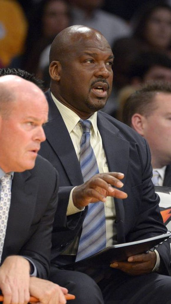 Auburn associate head coach Chuck Person, who is also