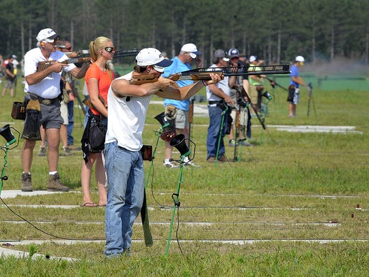 2014 Wisconsin State Shoot at the WTA Homegrounds Trapshooting