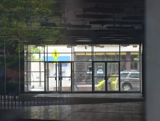 A view inside 50 W. Michigan Ave. in downtown Battle