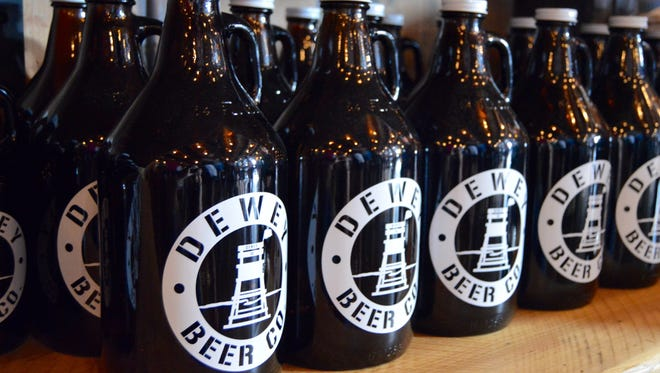 Dewey Beer Co. brews a house beer for Bethany Blues called Blues Surfing Pig.