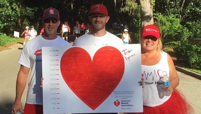 Following her heart attack, Lynne Troelstrup made it her mission to work closely with the American Heart Association and Tallahassee Memorial HealthCare to help raise awareness and education of heart disease.