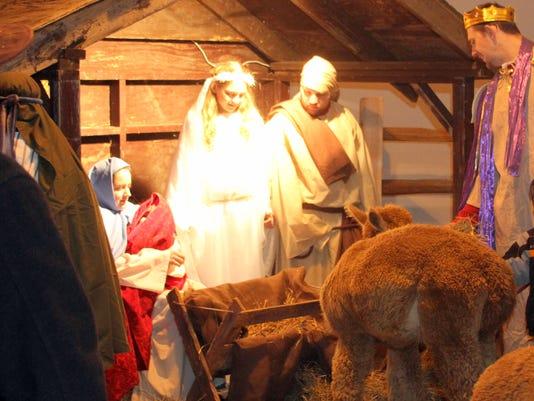 FRM live nativity