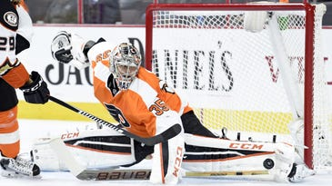 Flyers goalie Steve Mason will have the lion's share of work in the net while fellow goaltender Michal Neuvirth recovers from a lower-body injury.