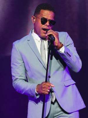 Maxwell performed at the Louisville Palace.July 14, 2016