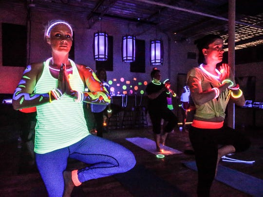 STā FIT Sartell, 805 Stearns County Road 120, will hold two Glow Yoga sessions from 6-8:15 p.m. Thursday in its StaFit Peddle/Pose Studio.