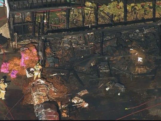 Rescue Crews Respond To Fire At Va Greenhouse