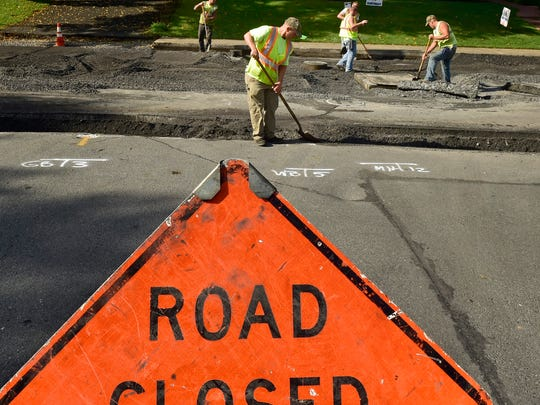 The Highland Avenue Reconstruction Project is underway at  Highland Avenue, between South Fourth Street and Blanchard Avenue, and will construct concrete curbs and repave the street. The work is expected to be finished by October 14.