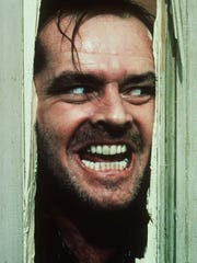"""Jack Nicholson, portraying Jack Torrance in the movie """"The Shining,"""" will still give you chills."""