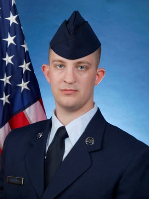 Air Force Airman Matthew T. Photides.