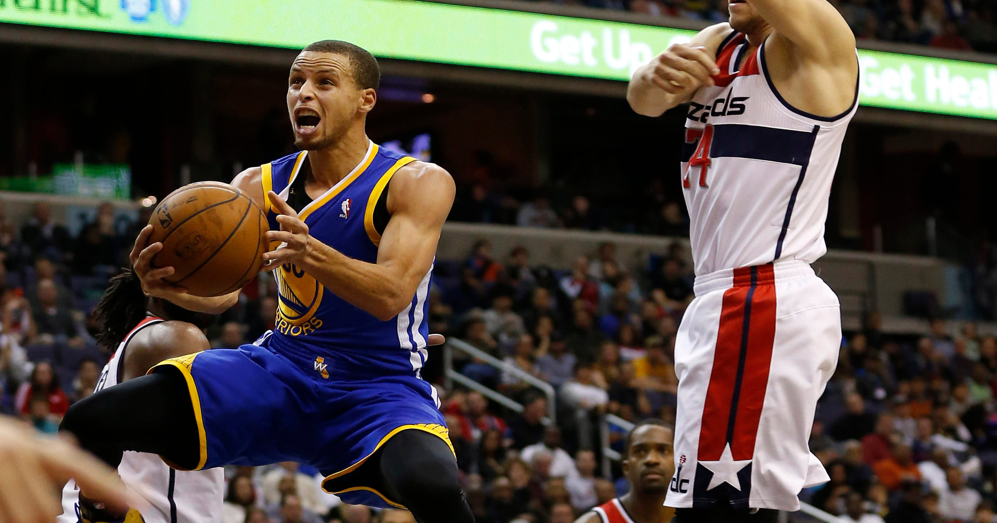 Warriors top Wizards for ninth consecutive win 48aa3229e