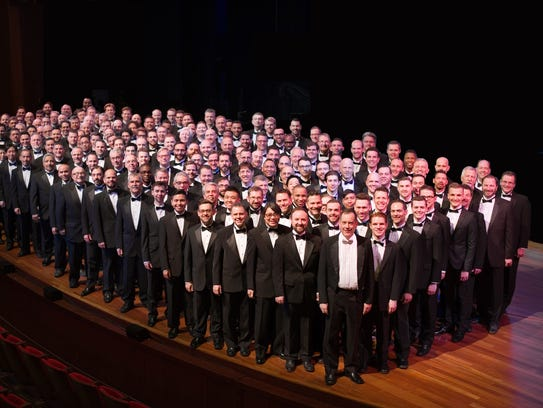 The Gay Men's Chorus will perform the annual Big Gay