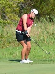 Grace Davis, Chesterton senior golfer