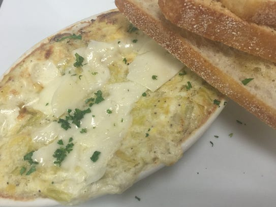 Chef Shawn Calley's artichoke dip