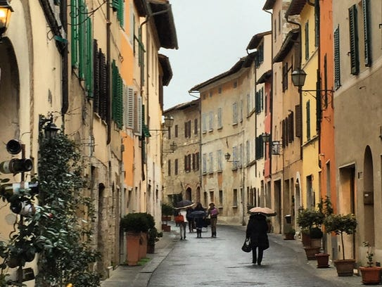 Off the beaten path in southern Tuscany, Italy