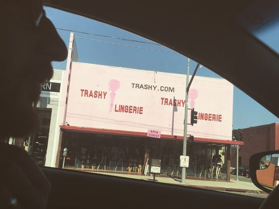 Nothing says Beverly Hill like Trashy Lingerie.