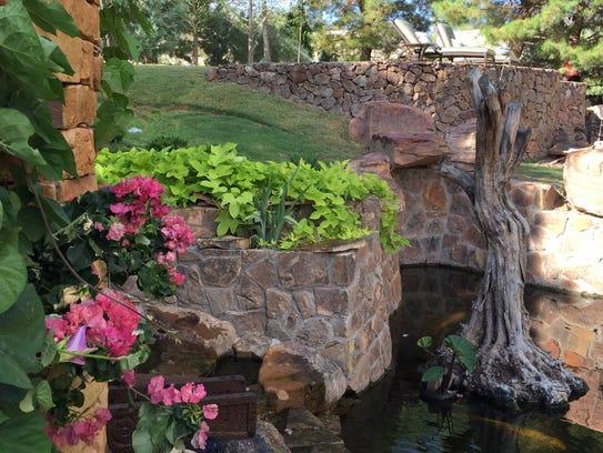 Pond tour extravaganza features el paso ponds for Premade koi ponds