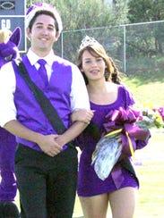 WNMU Homecoming King Nathan Jackson and Queen Kyra